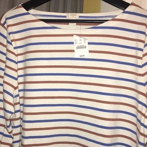 Jcrew long sleeve tee